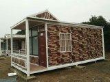 빨리 Prefabricated 또는 조립식 이동할 수 있는 콘테이너 집 또는 별장을 설치하십시오