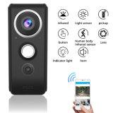 Videocamera di sicurezza bidirezionale di telecontrollo rf del campanello per porte WiFi del video del campanello di Timethinker di rappresentazione del record anello senza fili domestico astuto del IP