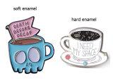 커피 Caffe Latte 도매 주문 단단한 사기질 Pin