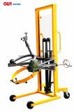 Kapazität 450kg Greifer-Typ manuelles Drehen-Hydrauliköl-Trommel, die LKWas handhabt