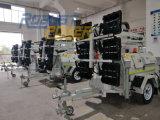 オーストラリア鉱山6X480W LEDの洪水油圧携帯用タワーライト発電機