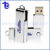 Металлический флэш-накопитель USB Pormo оптовой поворотный привод пера