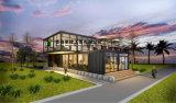 편평한 팩 사무실 살아있는 홈을%s 주문을 받아서 만들어진 Prefabricated 콘테이너 집
