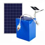 80W太陽電池パネルライトのための12V 60ahのリチウムイオン蓄電池