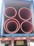 HDPE van de Kleur van Customerized Zwarte Pijp die voor Watervoorziening wordt gebruikt