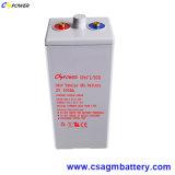 mantenimiento gratuito batería 2V 250Ah Opzv batería de gel de la batería de ciclo profundo
