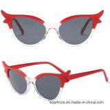 Novas Pequenas Cat Eye óculos de sol de alta qualidade de design da marca feminino óculos de sol cor de gradiente de lentes de óculos triângulo UV400