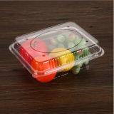 Пластиковый контейнер для продуктов питания ПЭТ упаковки фруктов лоток