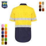 Overhemd van het Werk van de Veiligheid van de Koker Workwear hallo Vis van de douane het Weerspiegelende Korte