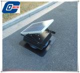 Ventilador recargable de 25 vatios de energía solar con 12V DC Ventilador Solar