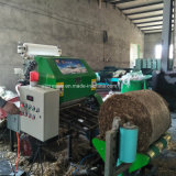 공장에서 사일로에 저항한 꼴 포장기 기계