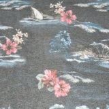 155gsm, 65%Poli 35%algodão tecido impresso Jersey para vestuário