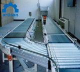 Transportador de rolos equipado, Transportador de rolos motorizados, Transportador de rolos de acionamento da corrente