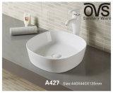 Modernes quadratisches Badezimmer-Schrank-Bassin-Hahn-Wäsche-Bassin