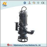 Versenkbare Bagger-Pumpen-rote Umhüllungen-Pumpe im Exkavator-Bagger