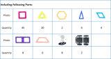111pcs bloques magnéticos Juguetes Juguetes de bricolaje en 3D bloques magnéticos edificio educativo