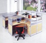 Stazione di lavoro popolare del cubicolo dell'ufficio della melammina della mobilia di economia di spazio (SZ-WS602)