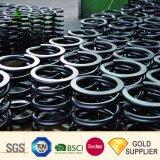 Venta caliente personalizados fabricante de los grandes industriales pesadas de la bobina de alambre laminado en caliente de resorte helicoidal cilíndrico