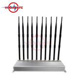 Un'emittente di disturbo/stampo delle 10 antenne per il walkie-talkie di /Wi-Fi/ UHF/VHF del cellulare, migliore emittente di disturbo portatile/interruttore del telefono delle cellule