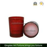 Bougie votive en verre rempli pour décoration de mariage