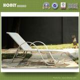 Maillage en plastique en aluminium Outdoor chaise de plage jardin moderne bain de soleil