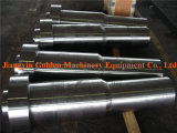 SAE1045 AISI1045の鋼鉄ステップシャフトを機械で造る鍛造材CNC