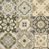 スペインの印象によって艶をかけられる磨かれた装飾のタイル600*600 (6263202)