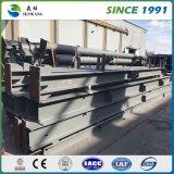 鉄骨フレームを作るためのHの鋼鉄の梁の使用