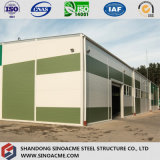 Gruppo di lavoro della struttura d'acciaio di alta qualità con di due piani