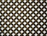 Ferro diplomato SGS inossidabile/pannello reticolare decorativo di alluminio/del rame di Flatwire