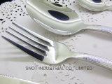 Les solides solubles administrent le jeu à la cuillère de cuillère de cuillère d'acier inoxydable