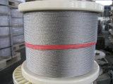 Fil d'acier de haute qualité de la corde Ungalvanized