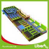 Parque interno adulto usado comercial do Trampoline da altura da venda direta