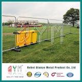 Горячая окунутая гальванизированная загородка сваренной сетки временно для случаев конструкции