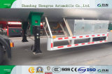 ASMEの高水準35cbmのアルミ合金の燃料かディーゼルタンクセミトレーラー