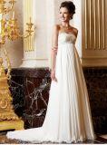 2012 robes de soirée Chiffon de train d'Applique doux Lmo 027