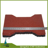 Antislip Stable Dog Bone Rubber Tile for Horse