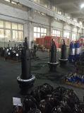 Pompe centrifuge submersible d'eaux résiduaires de ville