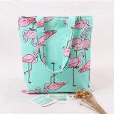 Van de Katoenen van de naïviteit de Nieuwe Flamingo's die Vrouwen van het Canvas het Winkelen van de Zak van de Schouder de Reis Tote Bolso DE Compras 11s61006 afdrukken van Zakken