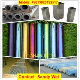 La couleur AISI304 a enduit la pipe soudée pour l'usage de décoration