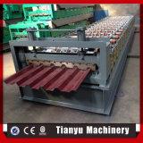 Панель стального листа плитки толя гальванизированная Corrugated делая машину