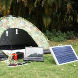 Portable Solar Power System Box mit DC Ausgang