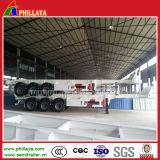 2017年の工場価格3の車軸60トン40FTの容器のセミトレーラー
