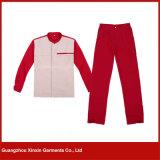 Vestiti uniformi del Workwear poco costoso su ordine del cuoco unico per gli indumenti di funzionamento (W283)