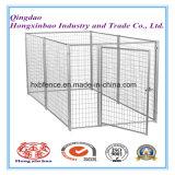 Hundehundehütte oder Hunderahmen für Verkauf/stapelbaren gefalteten galvanisierten Stahl geschweißten Speicherrahmen