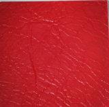 Cuero de imitación sintetizado artificial suave del Faux del PVC para Upholstery-Hxcbp27-Saco