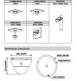 Poe van het Toezicht van het Netwerk van de Koepel van Dahua 4MP WDR IRL Camera (ipc-hdbw5431e-Z5)