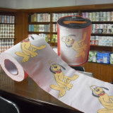 Surtidor animal de la venta al por mayor del papel de tejido de la impresión