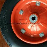3.00-8 Neumático libre plano de la pisada del balompié de la carretilla