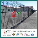 Треугольник с покрытием из ПВХ сварные ограды/ оцинкованных защитное ограждение